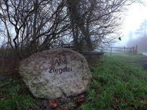 """Gedenkstein """"Alte Ziegelei"""""""